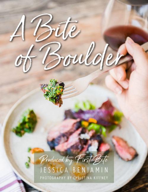 A Bite of Boulder cookbook cover