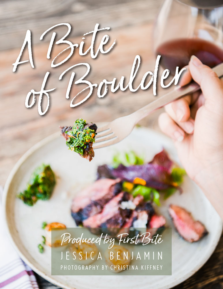 A Bite of Boulder cookbook cover