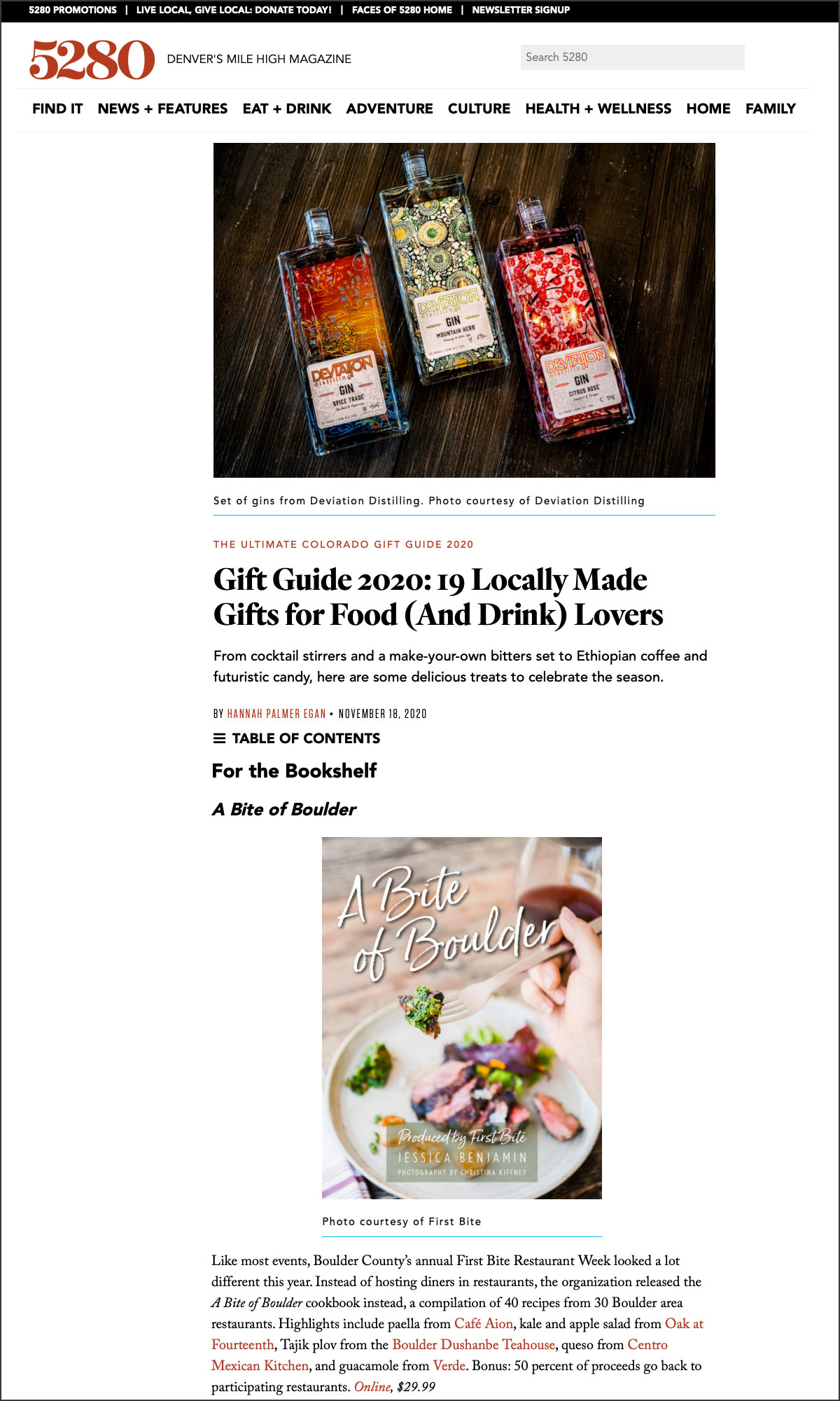 5280 Gift Guide