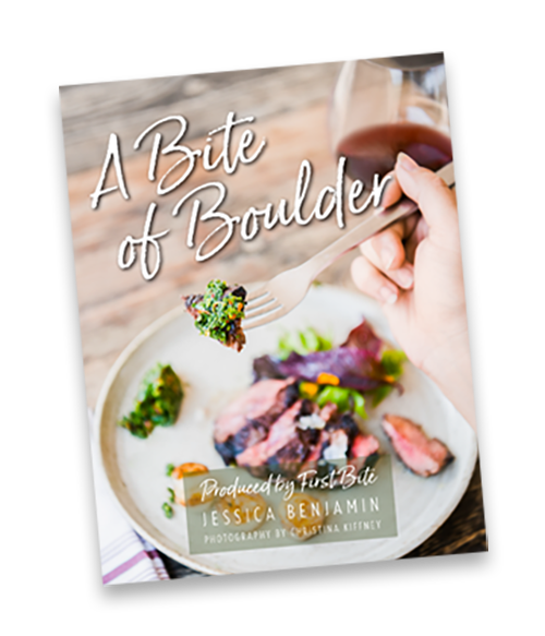 A Bite of Boulder cookbook