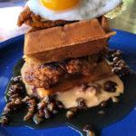 The Post chicken & waffles brunch