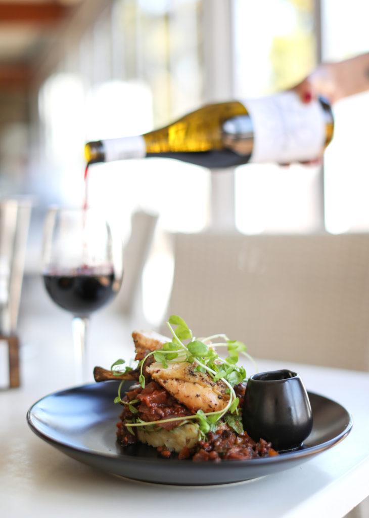Basque chicken with wine