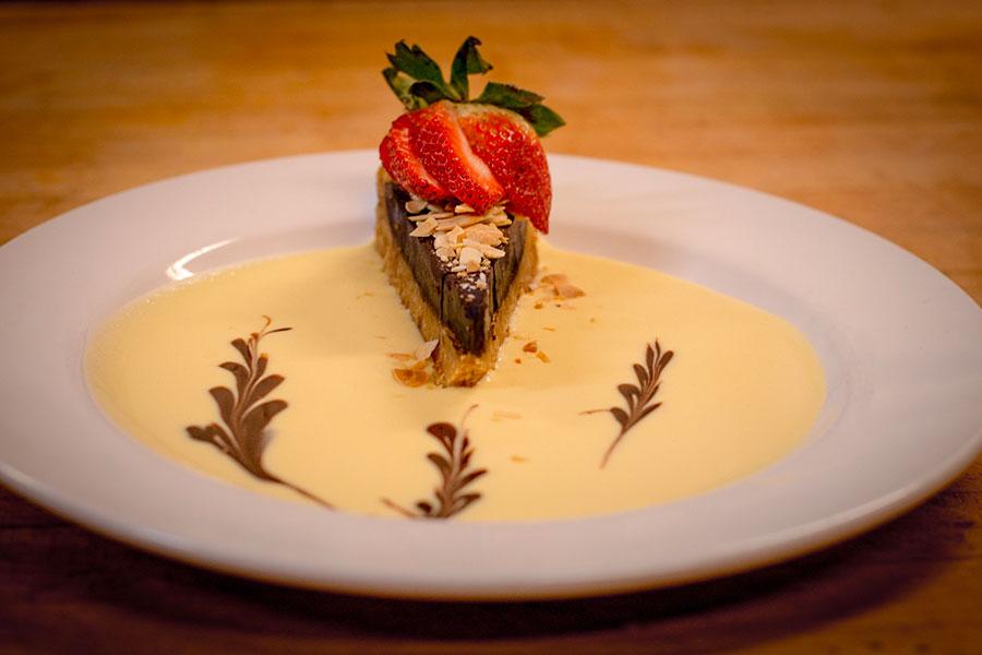 Dagabi chocolate tart