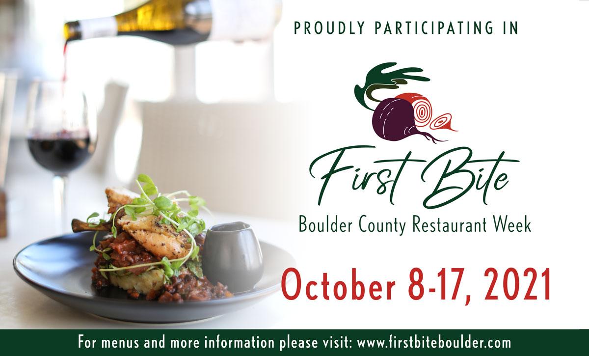First Bite: Boulder County Restaurant Week 2021 - Instagram