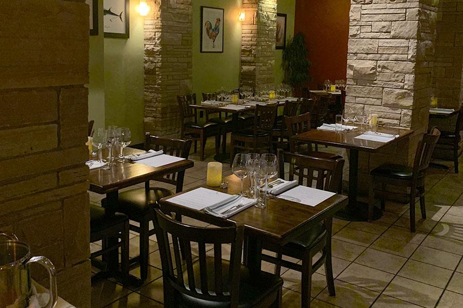 Sugarbeet dining room