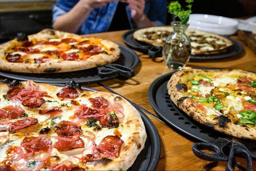 Fringe pizzas