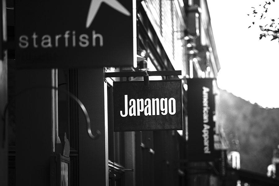 Japango sign